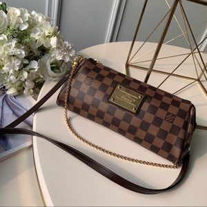 Louis Vuitton Eva crossbody damier ebene